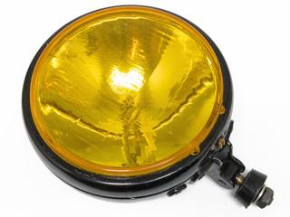 Gelber Scheinwerfer