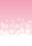 Background rosa e cuori - 72420903