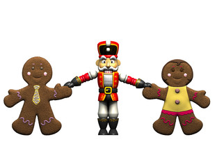 Gingerbread and Nutcracker.