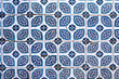 Tiles of walls of New mosque in Fatih, Istanbul