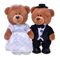 Two lovely teddy bears