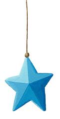 Blue Christmas decoration star