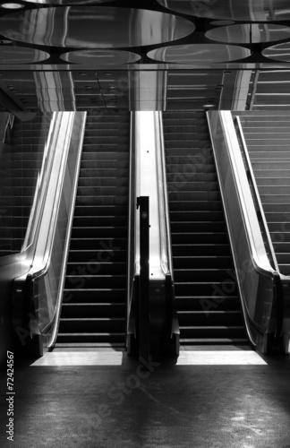 Foto op Aluminium Treinstation Stairs III
