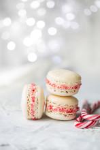 Weihnachten Macarons