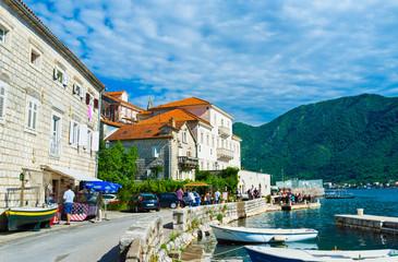 The pearl of Kotor bay