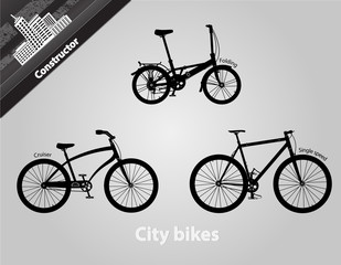City Bikes. In addition graphical format all bikes assembly.