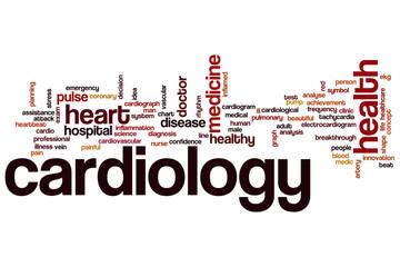 Cardiology word cloud
