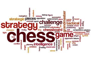 Chess word cloud