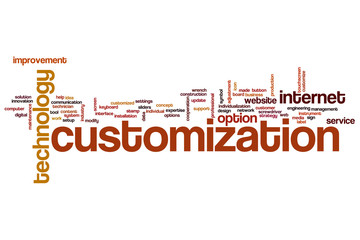Customization word cloud