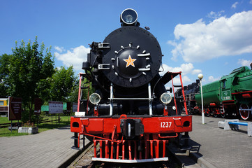 Soviet locomotive