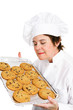 Chef Bakes Cookies