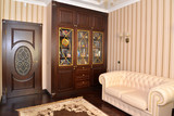 Fototapety Interior of a house office, modern classics