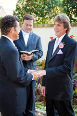 Gay Couple Married at Last