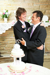 Wedding Reception for Gay Couple
