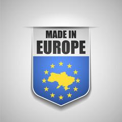 Ukraine made in Europe