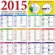 2015 Italian Calendar