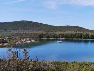 The Soline bay of the island Pasman in Croatia