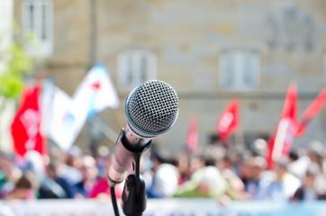 Pending speech