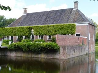 The borg Verhildersum a castle in Leens in Groningen