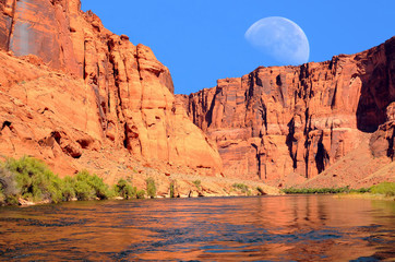 Colorado River Moon