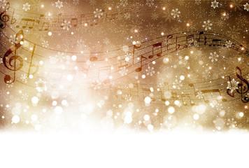 音符 楽譜 雪