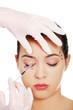 Cosmetic botox injection