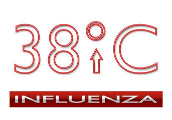 Influenza Febbre 38°C