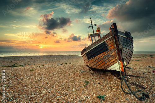 Foto op Aluminium Strand Seaside Sunrise