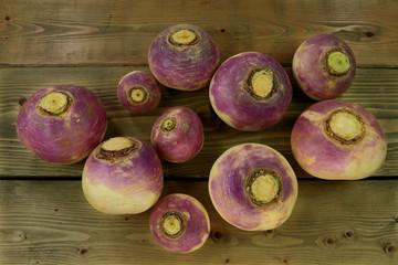 Vegetable Turnip roots