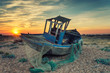 Abandoned Fishing Boat wtih Nets
