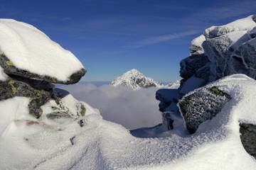 Winter mountains, High Tatras