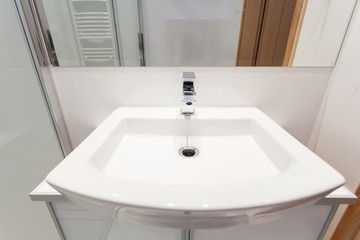 Modern sink in batchroom