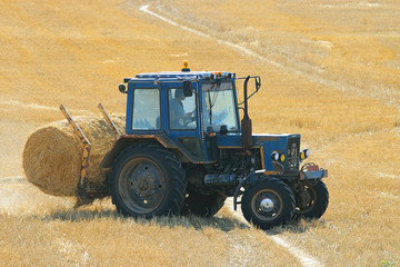 twist hay field cleaning