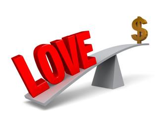Love Outweighs Money