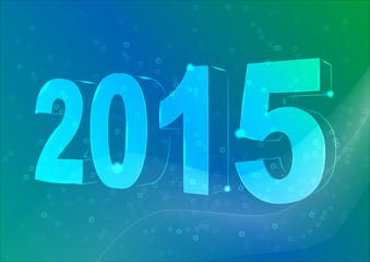 Новый 2015 год на фоне вьюги
