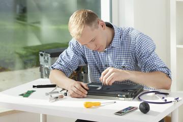 Repair of laptop