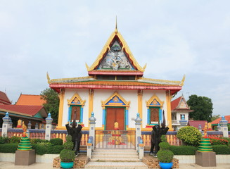 Mondop at Wat Rasom, Phachi, Ayutthaya
