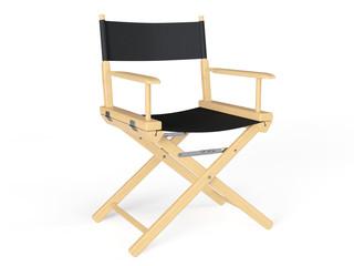 Cinema Industry Concept. Directors Chair