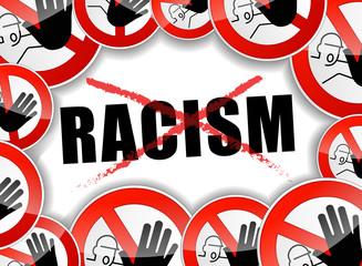 no racism concept