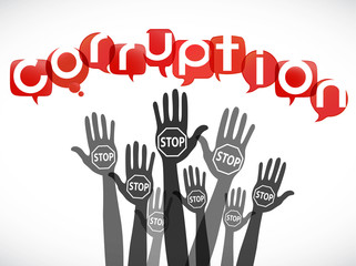 groupe mains : stop corruption