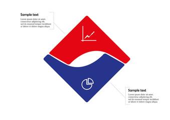 Square infographic