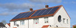 Domestic Roof Mounted Solar Panels - 72444126