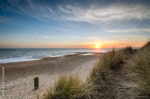 Sunset at Hengistbury Head