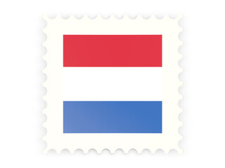 Postage stamp icon of netherlands