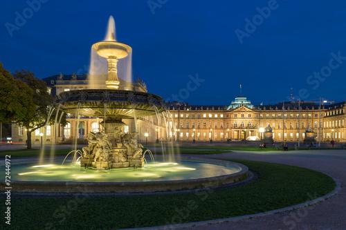 Square Schlossplatz, Stuttgart, Germany - 72444972