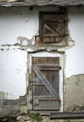 door to the pigsty