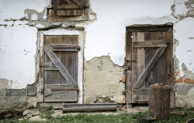 door to the pigsty
