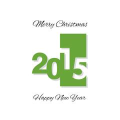 Green plate logo 2015 white background vector