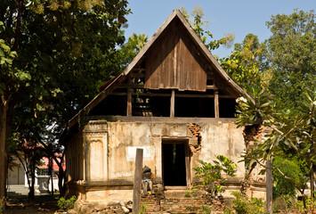 Ruined Buddha temple in Uttaradit province