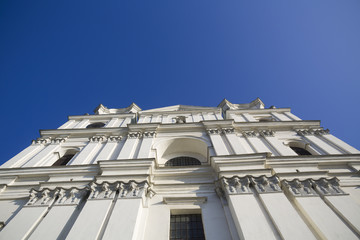 The architecture of the Catholic Church in Western Europe